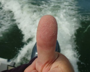 Bass Thumb - the measure of a great day!!