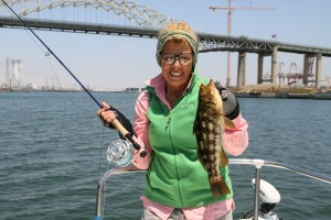 fishing the docks